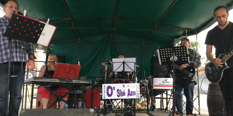 O'Shé Ann , groupe de musique Rock en représentation à Aisne - photo de couverture n° 1