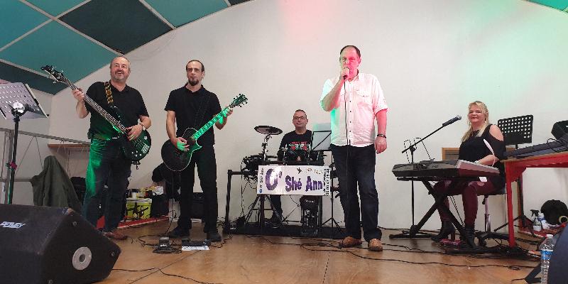 O'Shé Ann , groupe de musique Rock en représentation à Aisne - photo de couverture n° 2