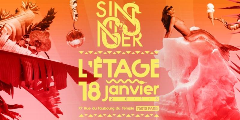 Sinner G's, groupe de musique Soul en représentation à Rhône - photo de couverture n° 1
