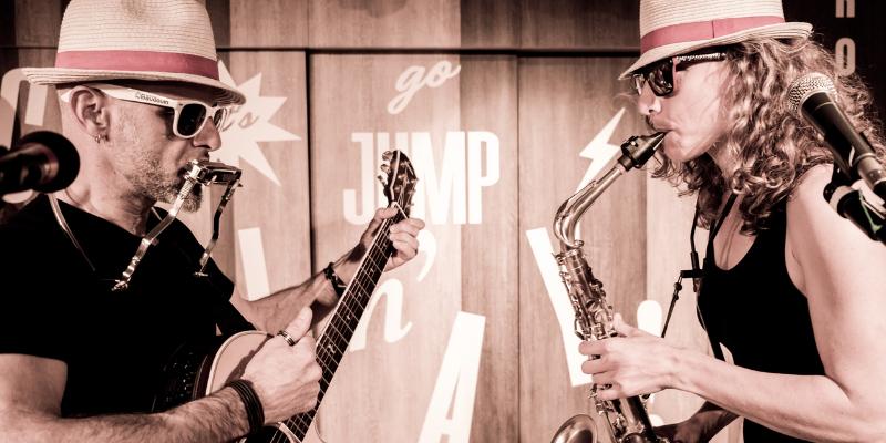 Jeliz Duo , musicien Rock en représentation à Alpes Maritimes - photo de couverture