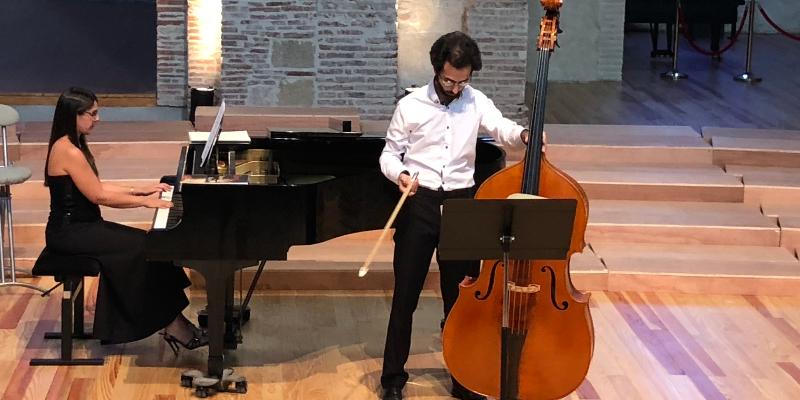 duo à contre jour, musicien Pianiste en représentation à Haute Garonne - photo de couverture n° 2