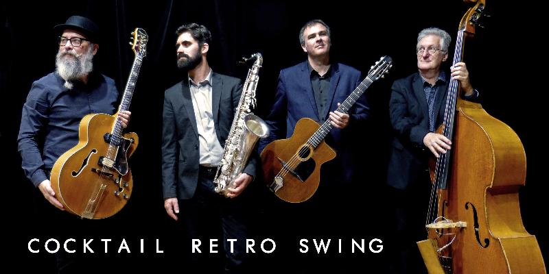 Cocktail Rétro Swing, groupe de musique Jazz en représentation à Loire Atlantique - photo de couverture n° 1
