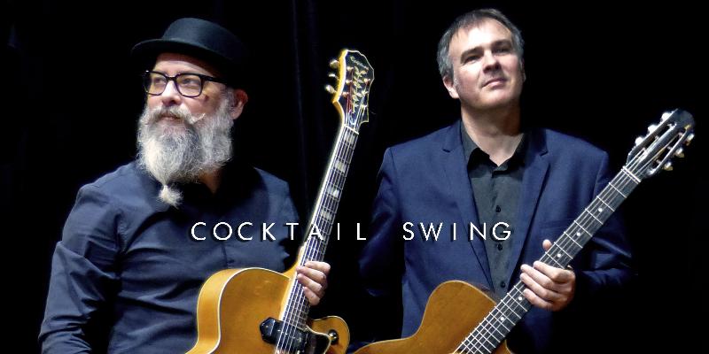 Cocktail Rétro Swing, groupe de musique Jazz en représentation à Loire Atlantique - photo de couverture n° 2