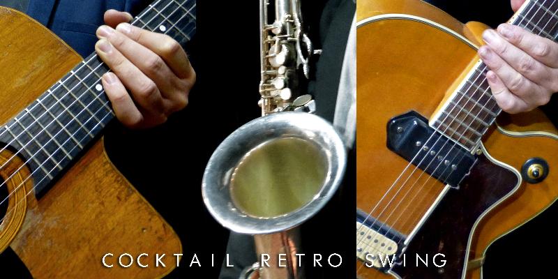 Cocktail Rétro Swing, groupe de musique Jazz en représentation à Loire Atlantique - photo de couverture n° 3