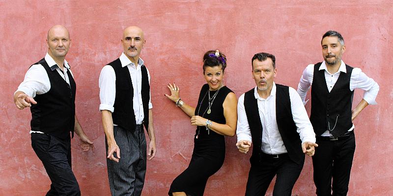 LES ACCORDES SWING, groupe de musique Chanteur en représentation à Haute Garonne - photo de couverture n° 1