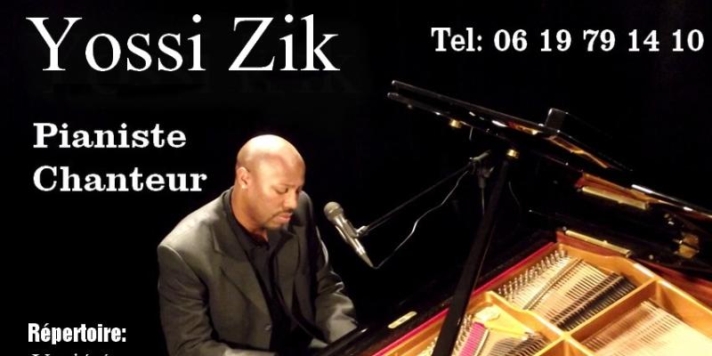 Yossi, musicien Chanteur en représentation à Seine Maritime - photo de couverture