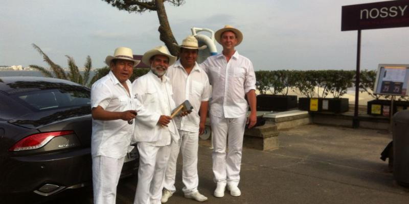 AMORICA, groupe de musique Latino en représentation à Loire Atlantique - photo de couverture