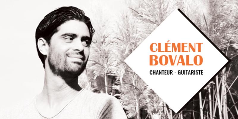 Clément Bovalo , musicien Pop en représentation à Essone - photo de couverture n° 1