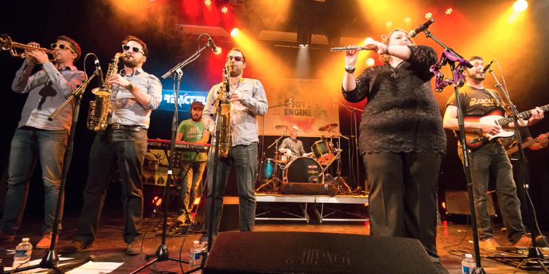 The Roots Engine, groupe de musique Reggae en représentation à Rhône - photo de couverture