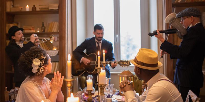 GYPSY GONES, groupe de musique Chanteur en représentation à Rhône - photo de couverture n° 1