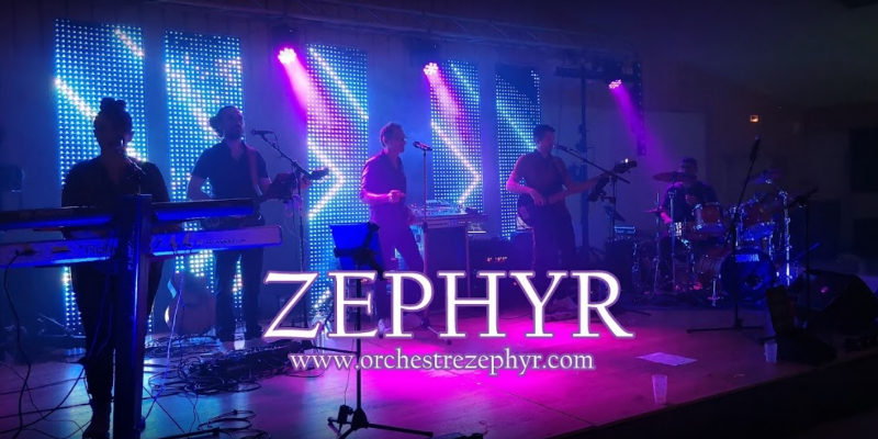 Zephyr, groupe de musique Rock en représentation à Vendée - photo de couverture