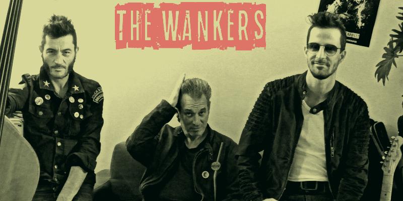 THE WANKERS, groupe de musique Rock en représentation à Drôme - photo de couverture n° 2