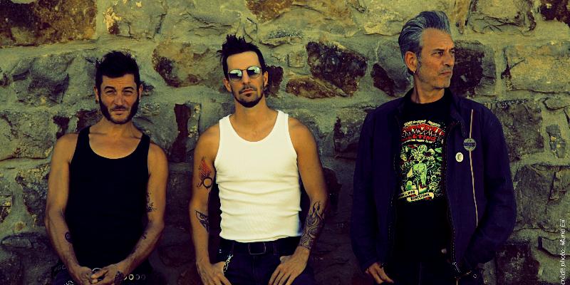 THE WANKERS, groupe de musique Rock en représentation à Drôme - photo de couverture n° 3