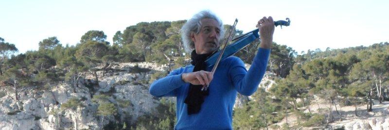 Violon Bleu, musicien Violoniste en représentation à Loire - photo de couverture n° 5
