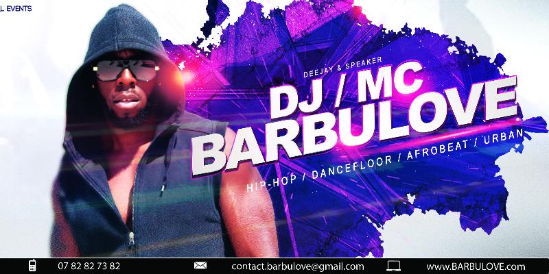 dj/mc BARBULOVE, musicien Hip-Hop en représentation - photo de couverture