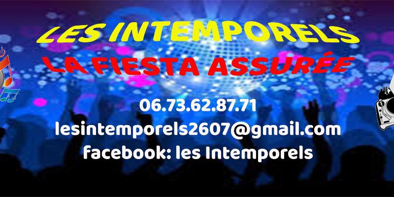 Les Intemporels, DJ Dj en représentation à Drôme - photo de couverture