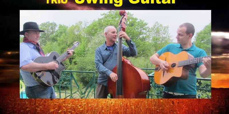 GypSwing, groupe de musique Jazz manouche en représentation à Lot et Garonne - photo de couverture n° 1