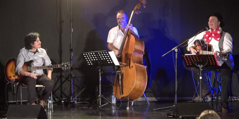 GypSwing, groupe de musique Jazz manouche en représentation à Lot et Garonne - photo de couverture n° 2