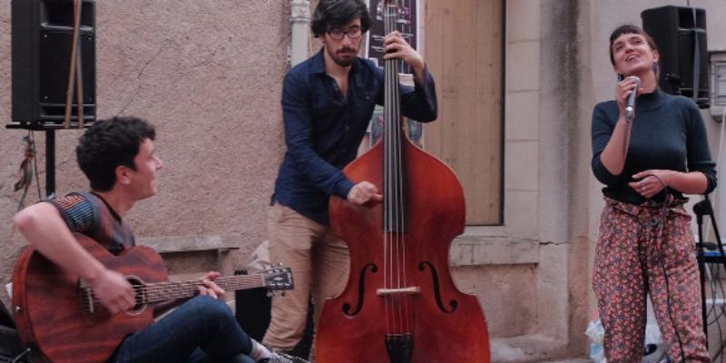 Tayir, groupe de musique Jazz en représentation à Paris - photo de couverture