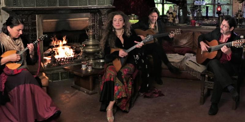 Natacha Fialkovsky, groupe de musique Musique Slave en représentation à Paris - photo de couverture