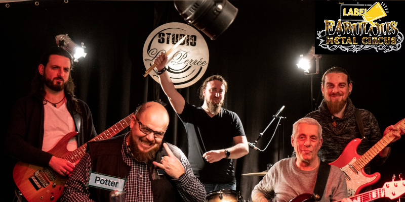 Potter, groupe de musique Rock en représentation à Indre et Loire - photo de couverture n° 3
