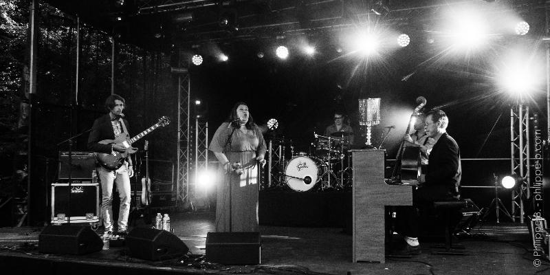 Audrey et Les Faces B, groupe de musique Blues en représentation - photo de couverture n° 2