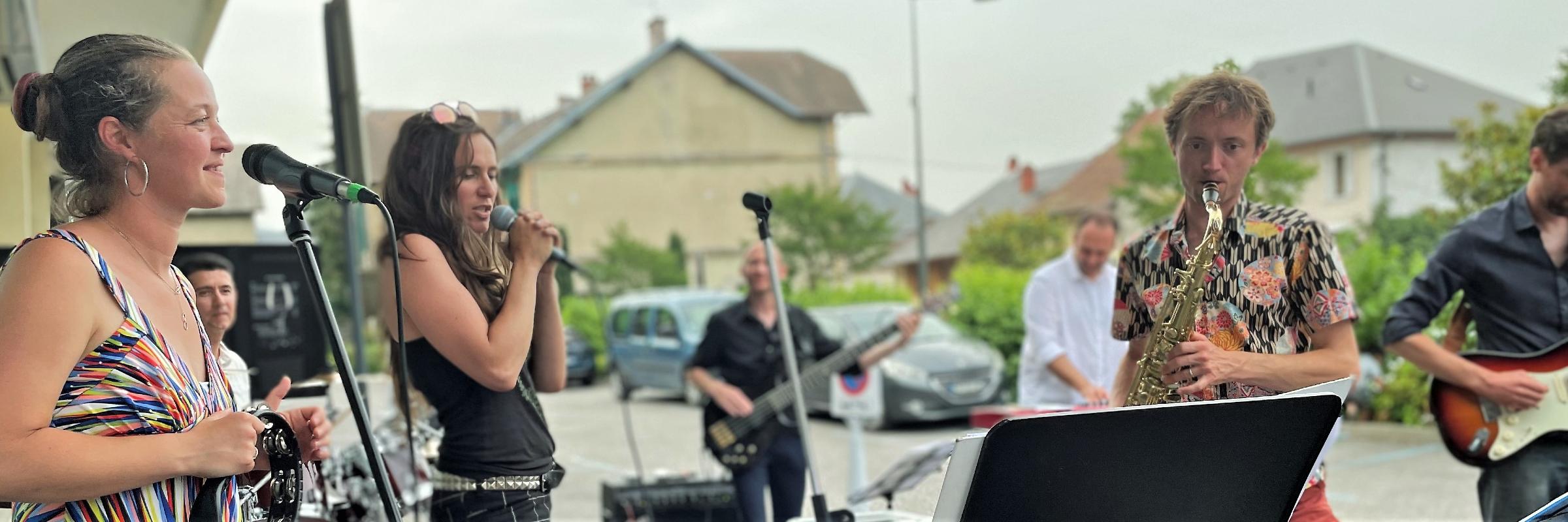 The Funkeeters, groupe de musique Soul en représentation à Savoie - photo de couverture n° 1