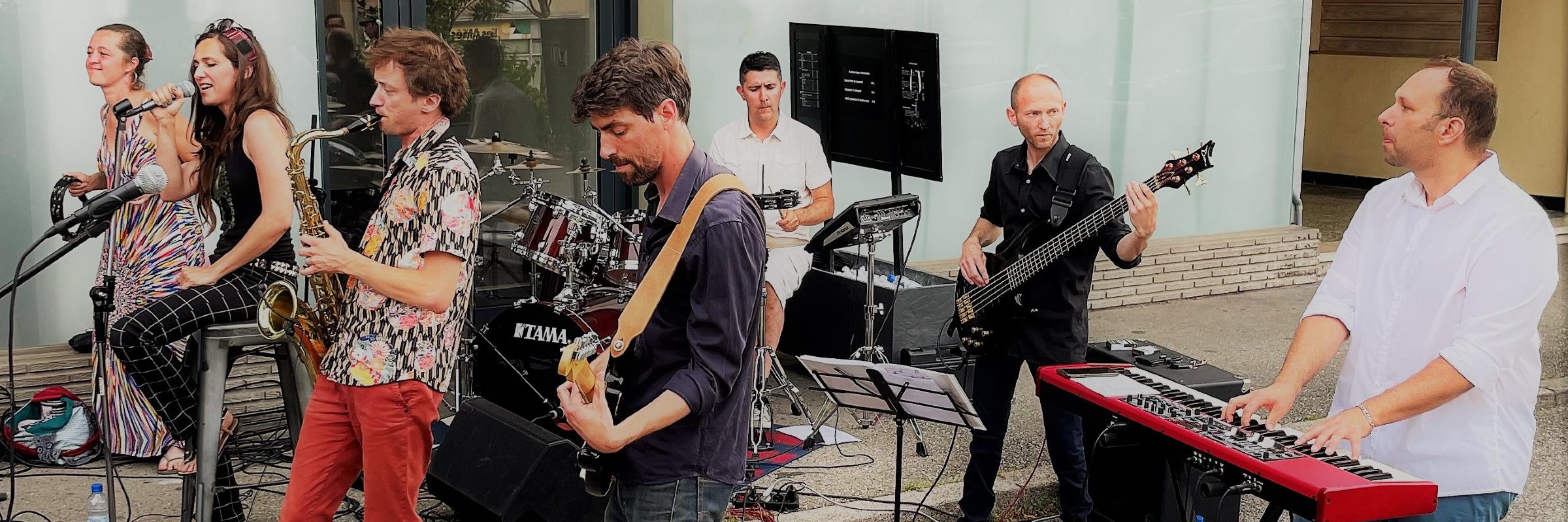 The Funkeeters, groupe de musique Soul en représentation à Savoie - photo de couverture n° 2