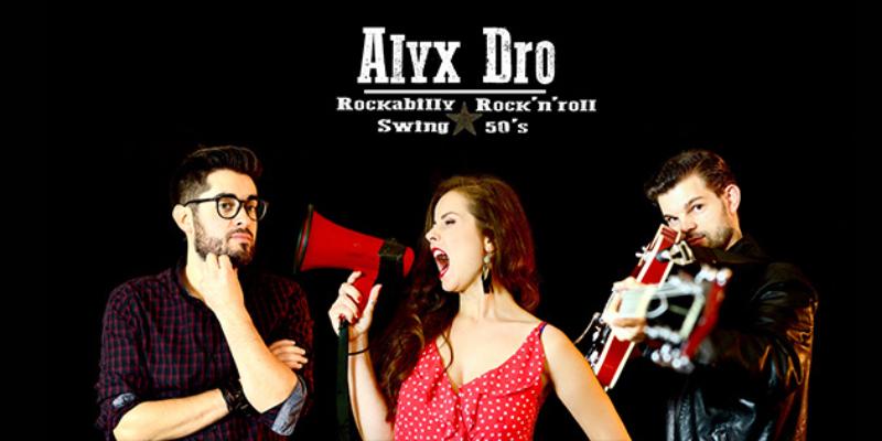 Alyx Dro, groupe de musique Rock en représentation à Gironde - photo de couverture