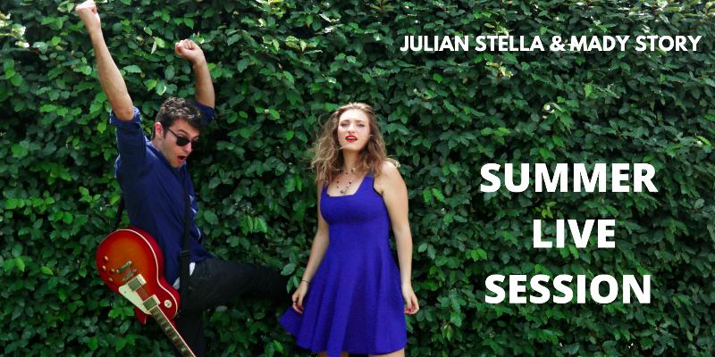 Mady Story & Julian Stella, musicien Pop en représentation à Vaucluse - photo de couverture