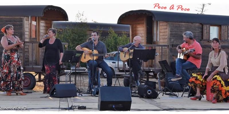 POCO A POCO, groupe de musique Musiques du monde en représentation à Charente Maritime - photo de couverture n° 2
