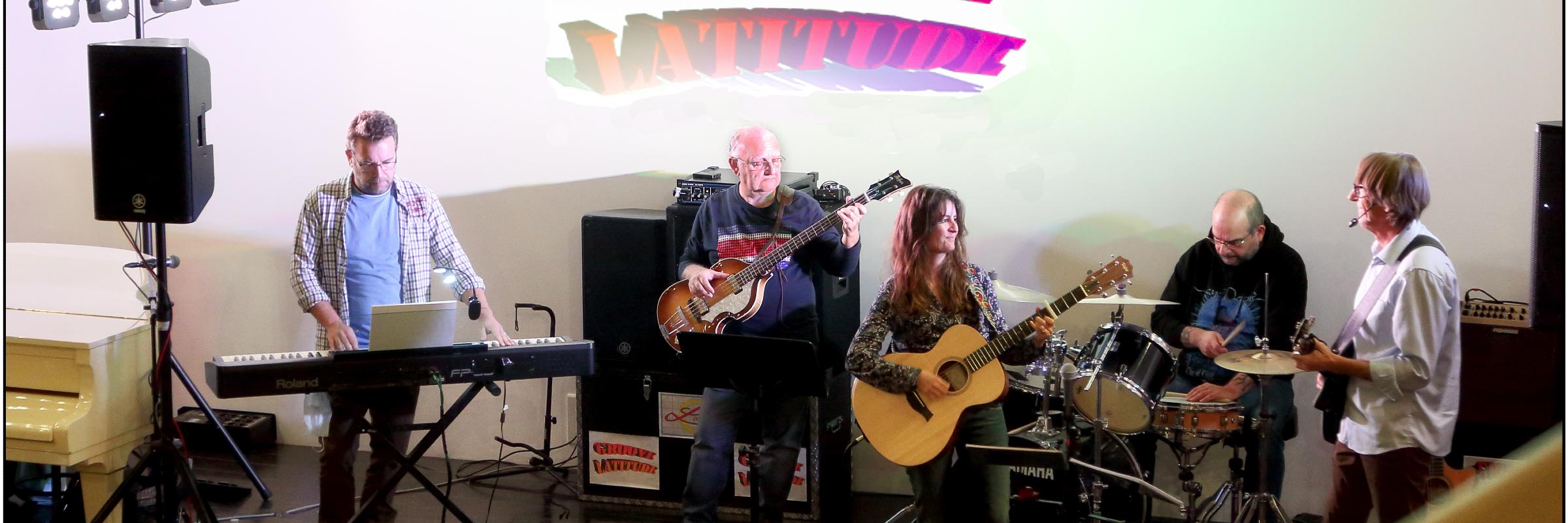 GROOVE LATITUDE, groupe de musique Rock en représentation à Côte d'Or - photo de couverture n° 3