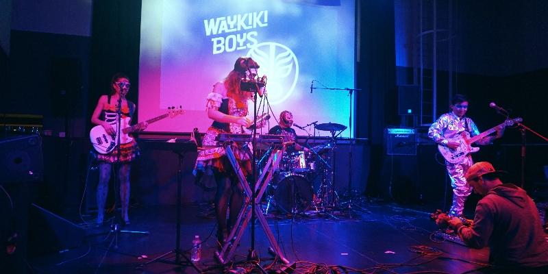 WAYKIKI BOYS, groupe de musique Musiques du monde en représentation à Yvelines - photo de couverture n° 1
