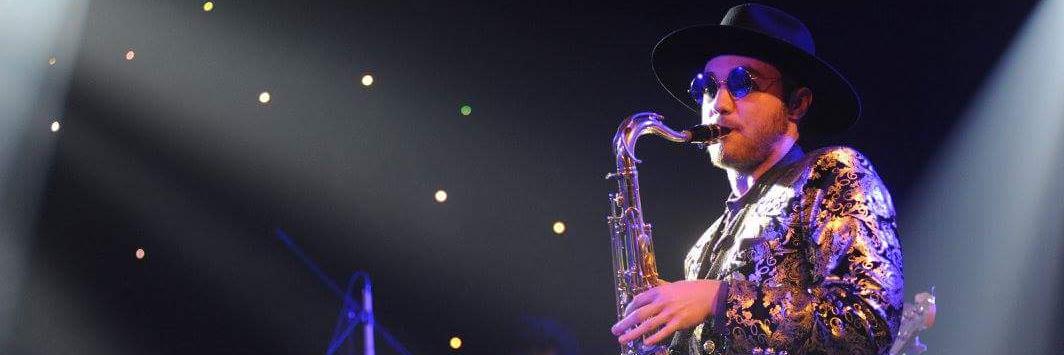 Maceo, musicien Soul en représentation à Paris - photo de couverture n° 1
