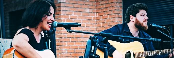 L&B acoustic duo, musicien Soul en représentation à Nord - photo de couverture n° 4