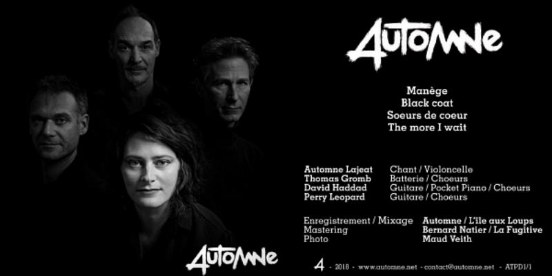 Automne, groupe de musique Rock en représentation à Seine Saint Denis - photo de couverture n° 2