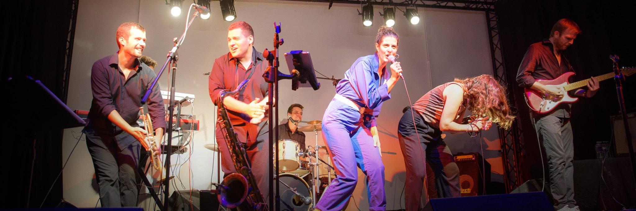 So What The Funk, groupe de musique Soul en représentation à Seine et Marne - photo de couverture n° 2