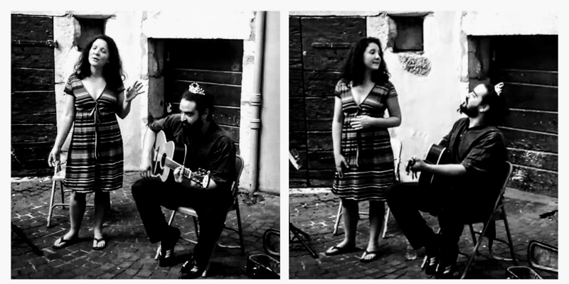 La Princesse et le Croque-Notes, musicien Chanteur en représentation - photo de couverture n° 1