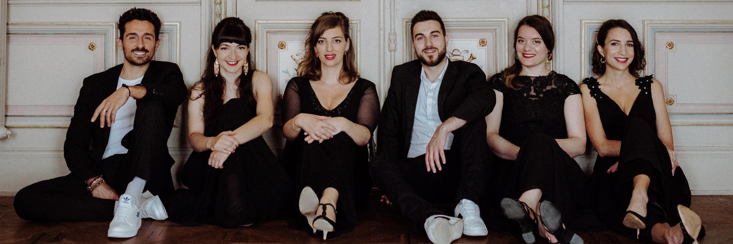 Madame Et Cætera, groupe de musique Chanteur en représentation à Haute Garonne - photo de couverture n° 1