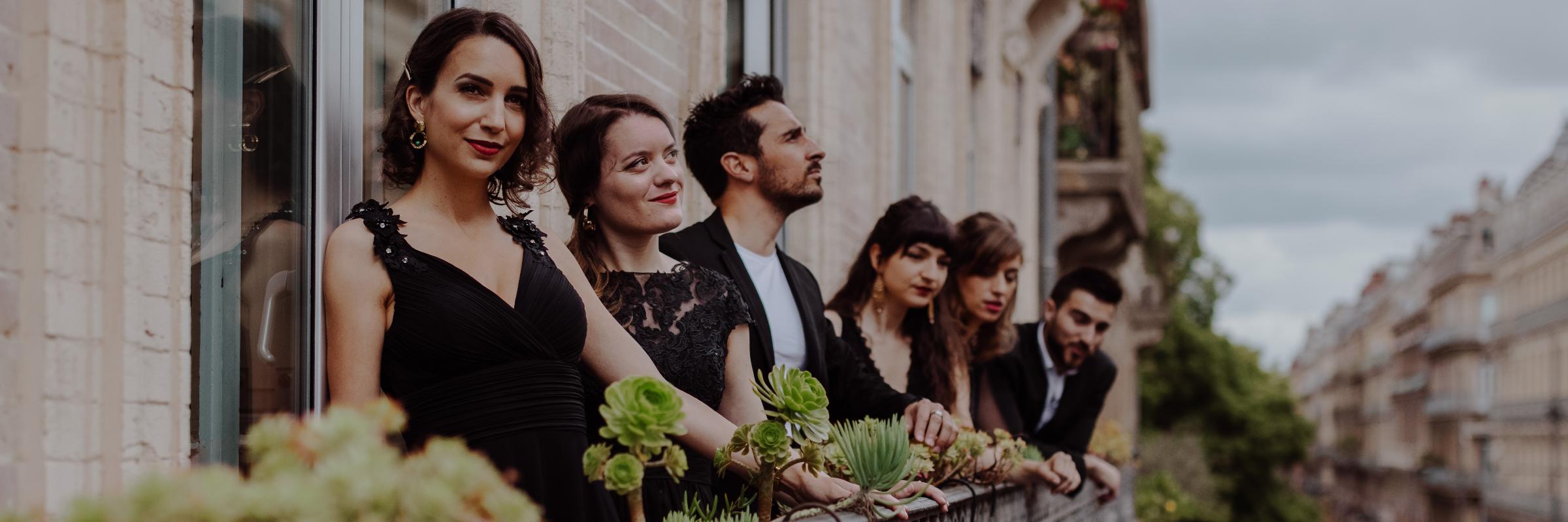 Madame Et Cætera, groupe de musique Chanteur en représentation à Haute Garonne - photo de couverture n° 2