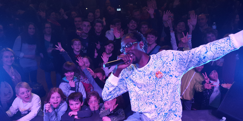 S1DROME , musicien Chanteur en représentation à Yvelines - photo de couverture n° 2
