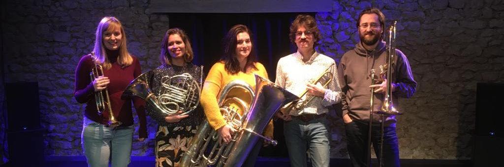 Q5 - Brass Quintet, groupe de musique Film en représentation à Paris - photo de couverture n° 2