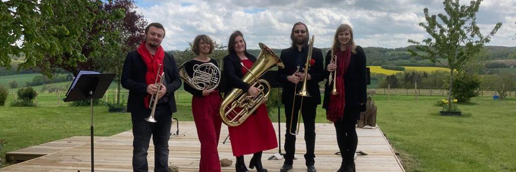 Q5 - Brass Quintet, groupe de musique Film en représentation à Paris - photo de couverture n° 3
