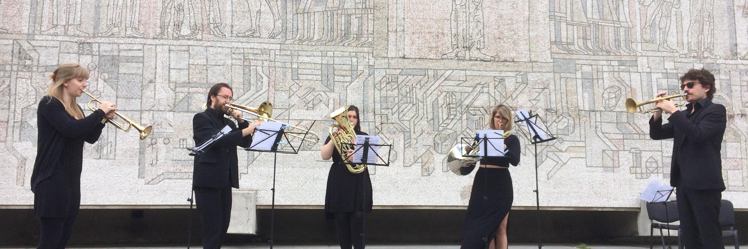 Q5 - Brass Quintet, groupe de musique Film en représentation à Paris - photo de couverture n° 4