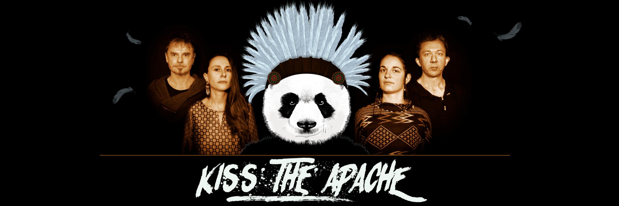 Kiss the Apache, groupe de musique Folk en représentation à Calvados - photo de couverture n° 1