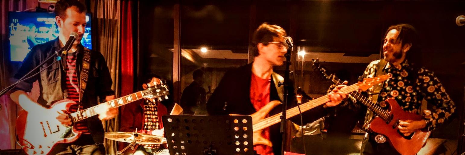 The Hugos, groupe de musique Guitariste en représentation à Paris - photo de couverture n° 3