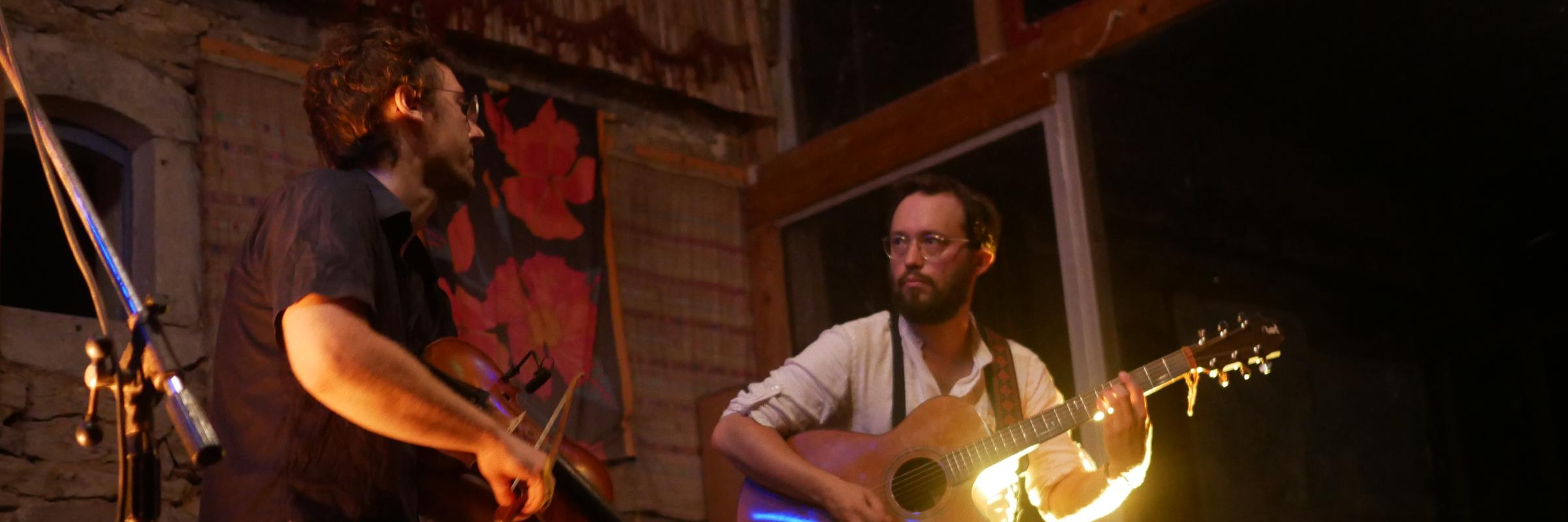 La Solive, musicien Guitariste en représentation à Bas Rhin - photo de couverture