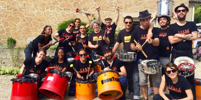 DRUMTEAM, groupe de musique Musiques du monde en représentation - photo de couverture n° 3