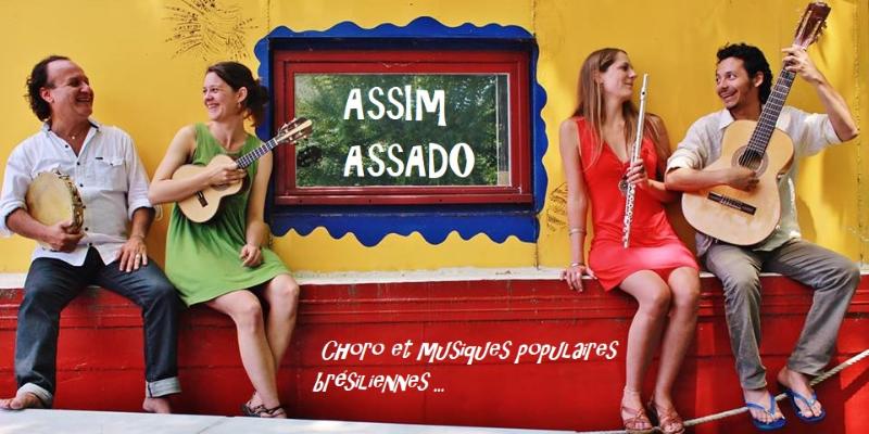 Assim Assado, groupe de musique Musiques du monde en représentation - photo de couverture