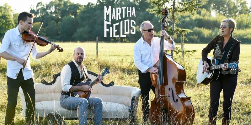 Martha Fields, groupe de musique Folk en représentation à Gironde - photo de couverture n° 1